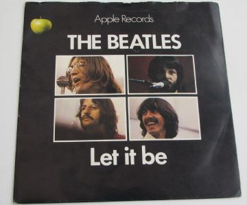 "Beatles LET IT BE PICTURE SLEEVE ISSUE UK 7"" EX AUDIO"